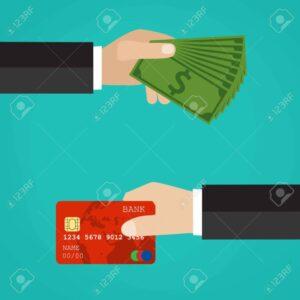 ¿Pagar con tarjeta de crédito o en efectivo