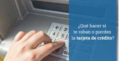¿Qué hacer cuando pierde o le roban su tarjeta de crédito